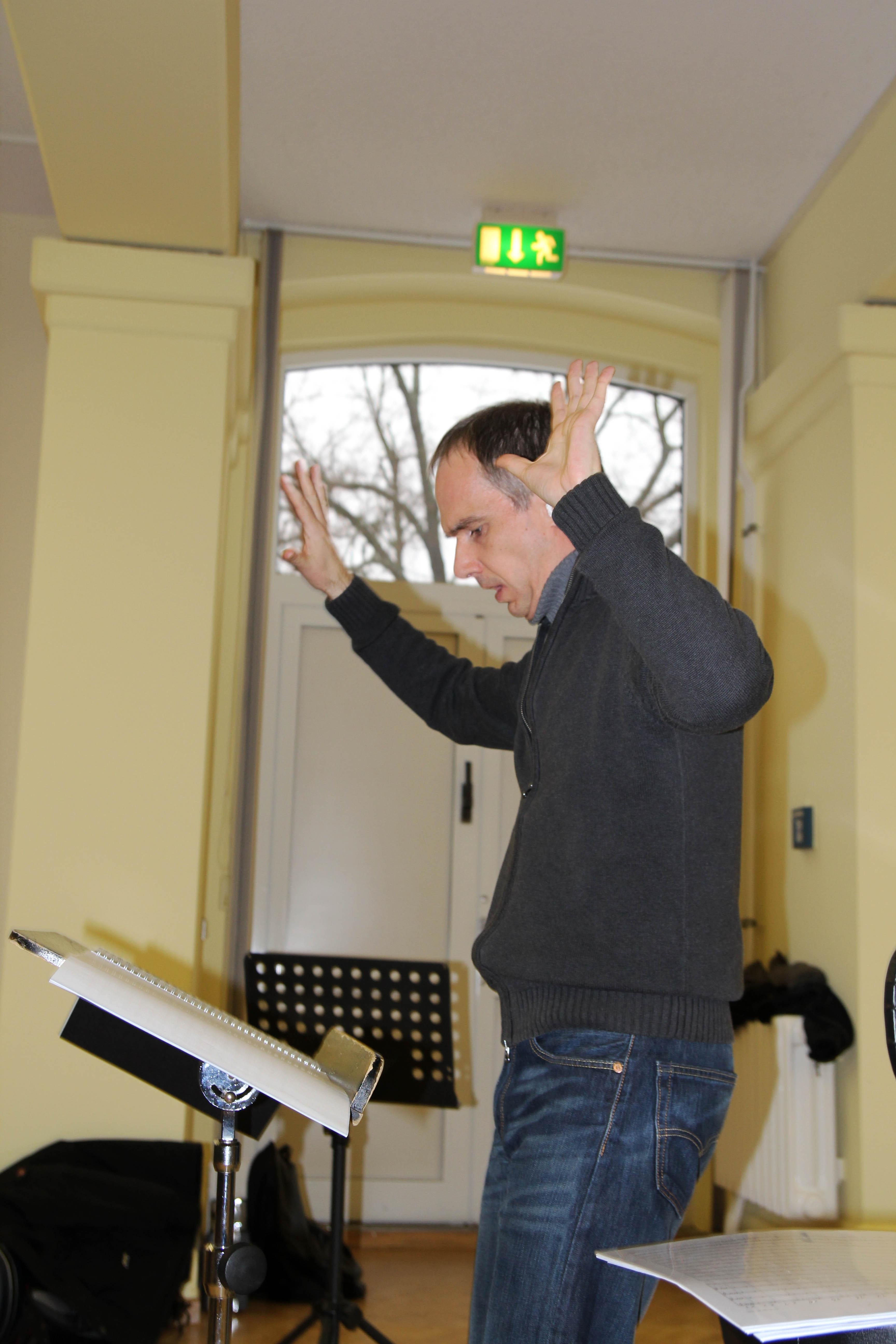Big Band Workshop mit Peter Tenner 2013